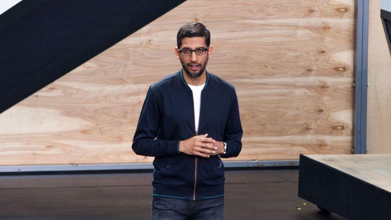 Sundar Pichai, CEO de Google en Google I/O 2016
