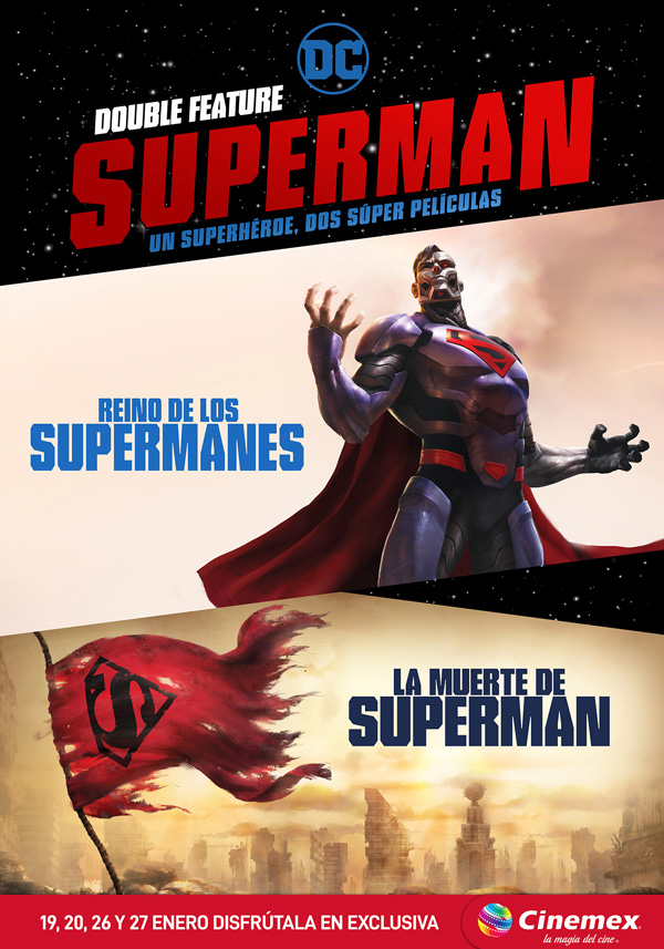 Maratón de Superman en Cinemex