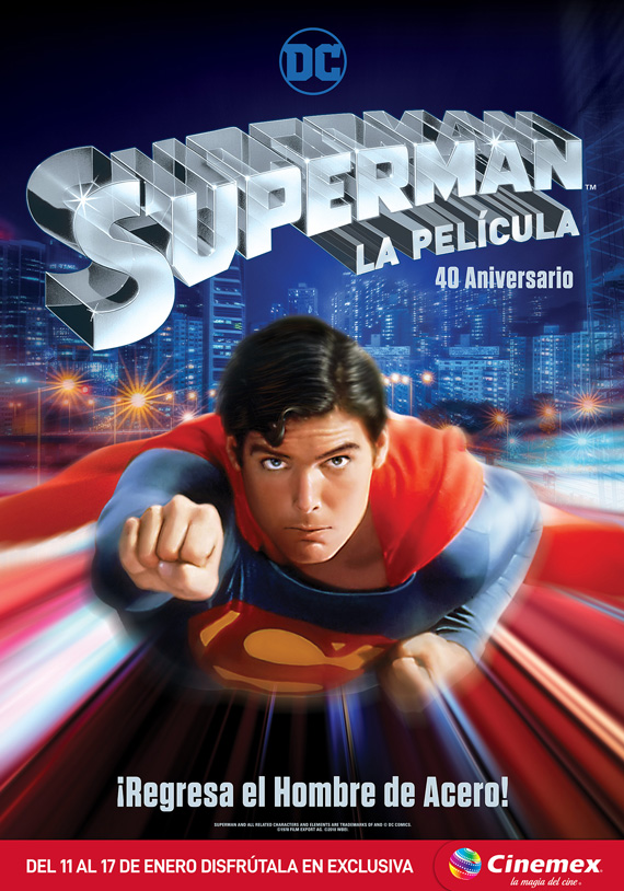 Superman, La película en Cinemex