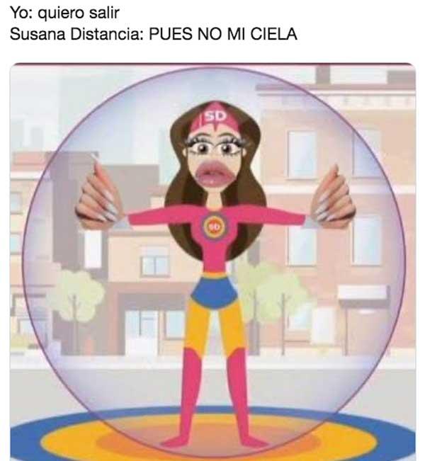 Memes de Susana Distancia