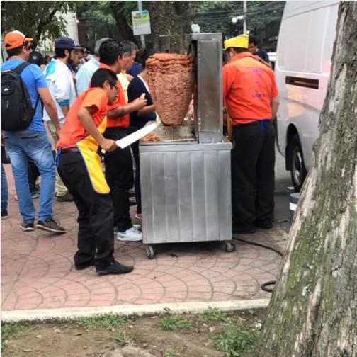 tacos alvaro obregon sismo 2017