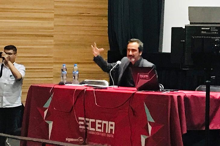 Luis Grané en su clase magistral | Talento en ESCENA 2019