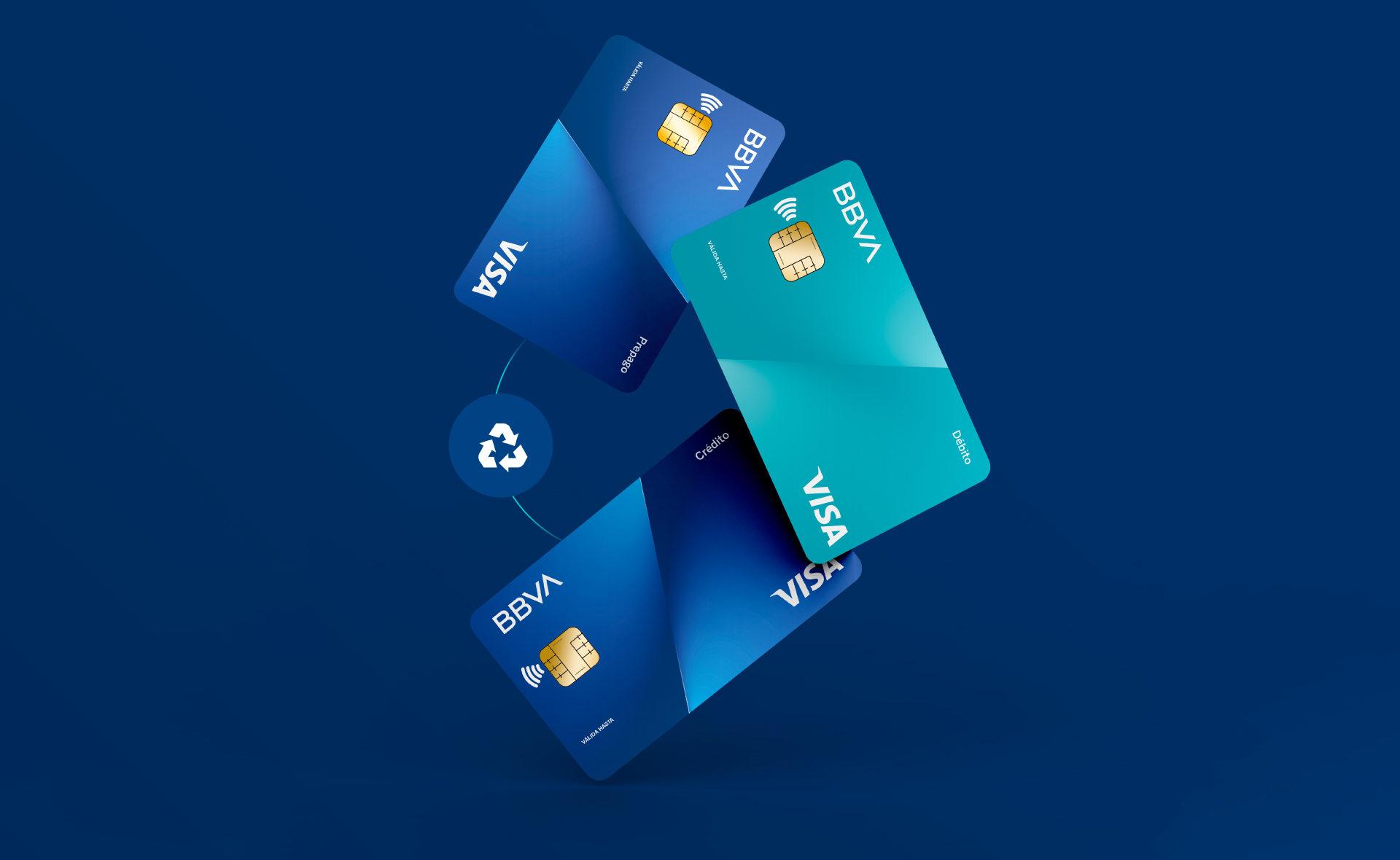 BBVA nueva generación de tarjetas de crédito sustentables