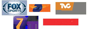 Fox Sports | TVC Deportes | TDN | Azteca 7 | ESPN 2