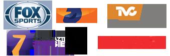 Fox Sports | TDN | TVC Deportes | Azteca 7 | Canal 5 | ESPN 2