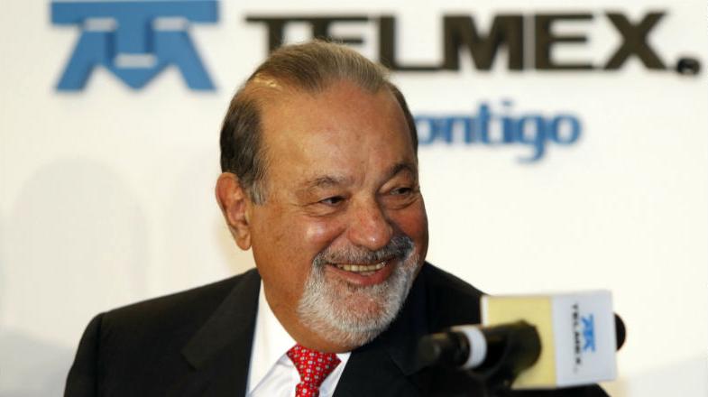 Carlos Slim, presidente de Telmex