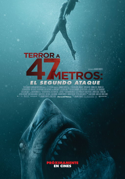 Cartel de Terror a 47 Metros: El Segundo Ataque