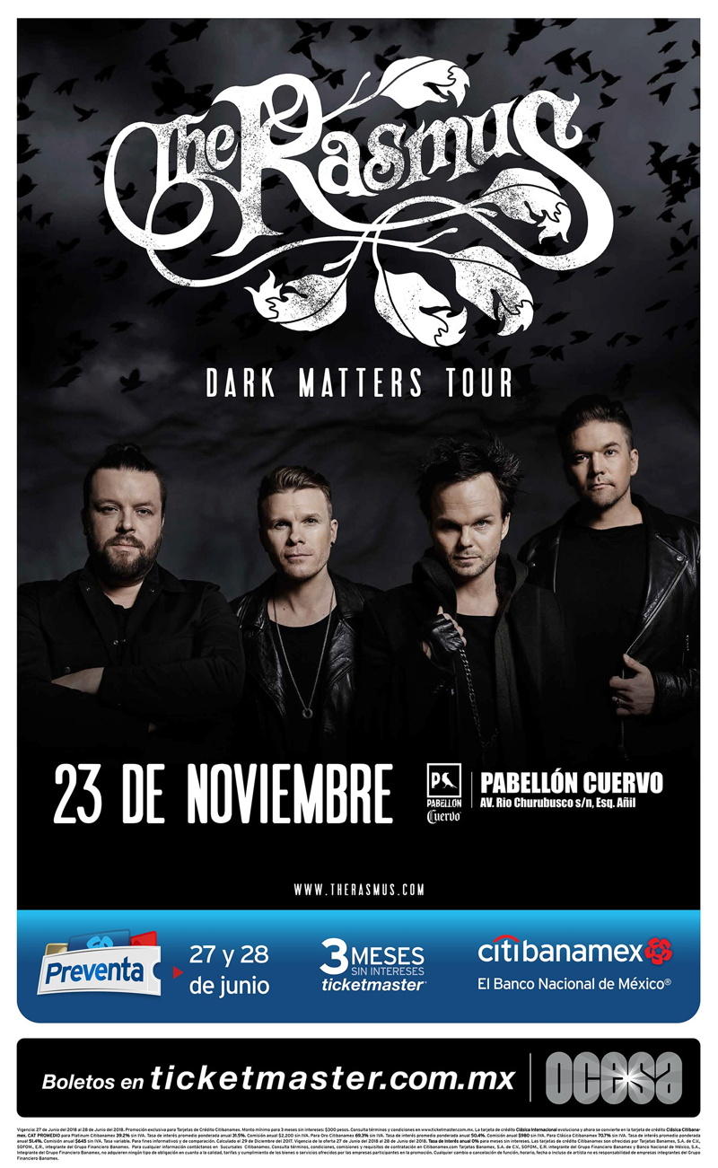 the rasmus méxico 2018
