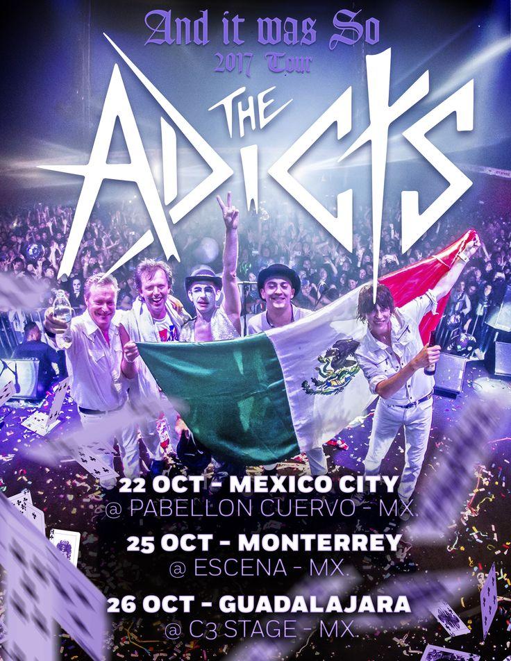 Póster de la gira por México