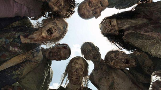 Zombies en The Walking Dead
