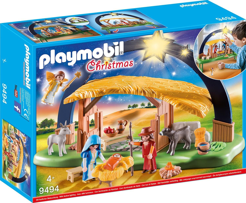 Playmobil Nacimiento de Navidad en Amazon