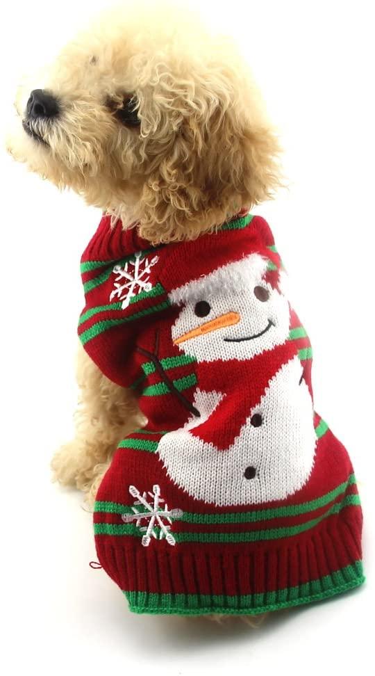 Suéter navideño para mascota en Amazon México