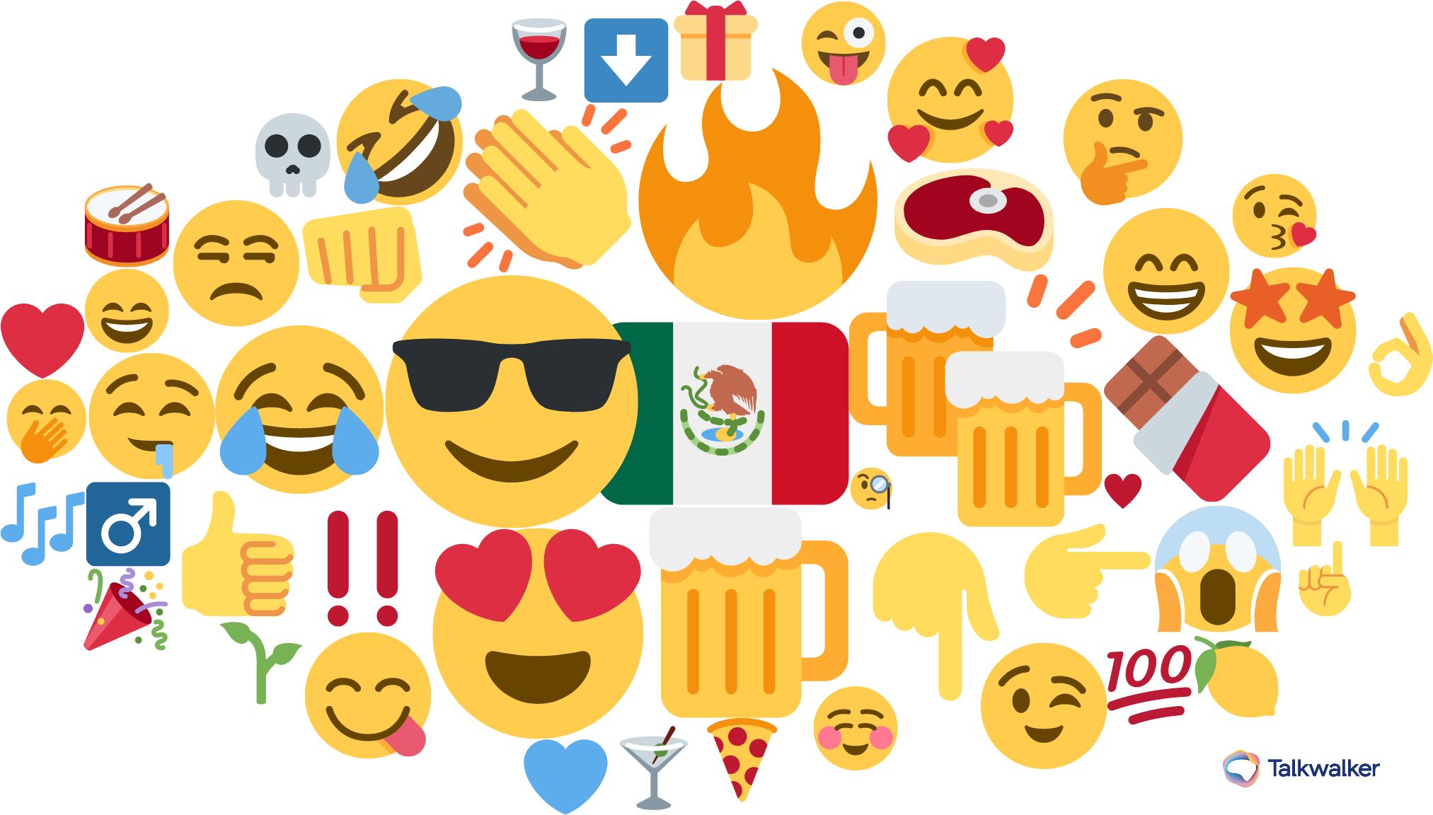 Nube de Emojis de Grupo Mocelo.