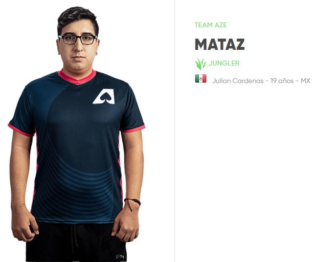 Top 5 Mejores Jugadores Mexicanos de League of Legends: Mataz