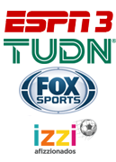 Fox Sports | TUDN | Afizzionados | ESPN 3
