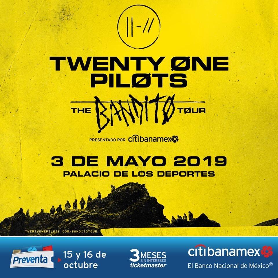 Twenty One Pilots México 2019
