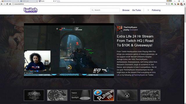 Livestream en Twitch