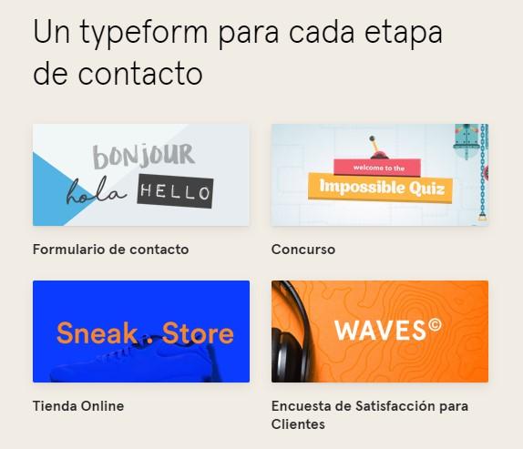 Typeform: mucho más que encuestas en línea