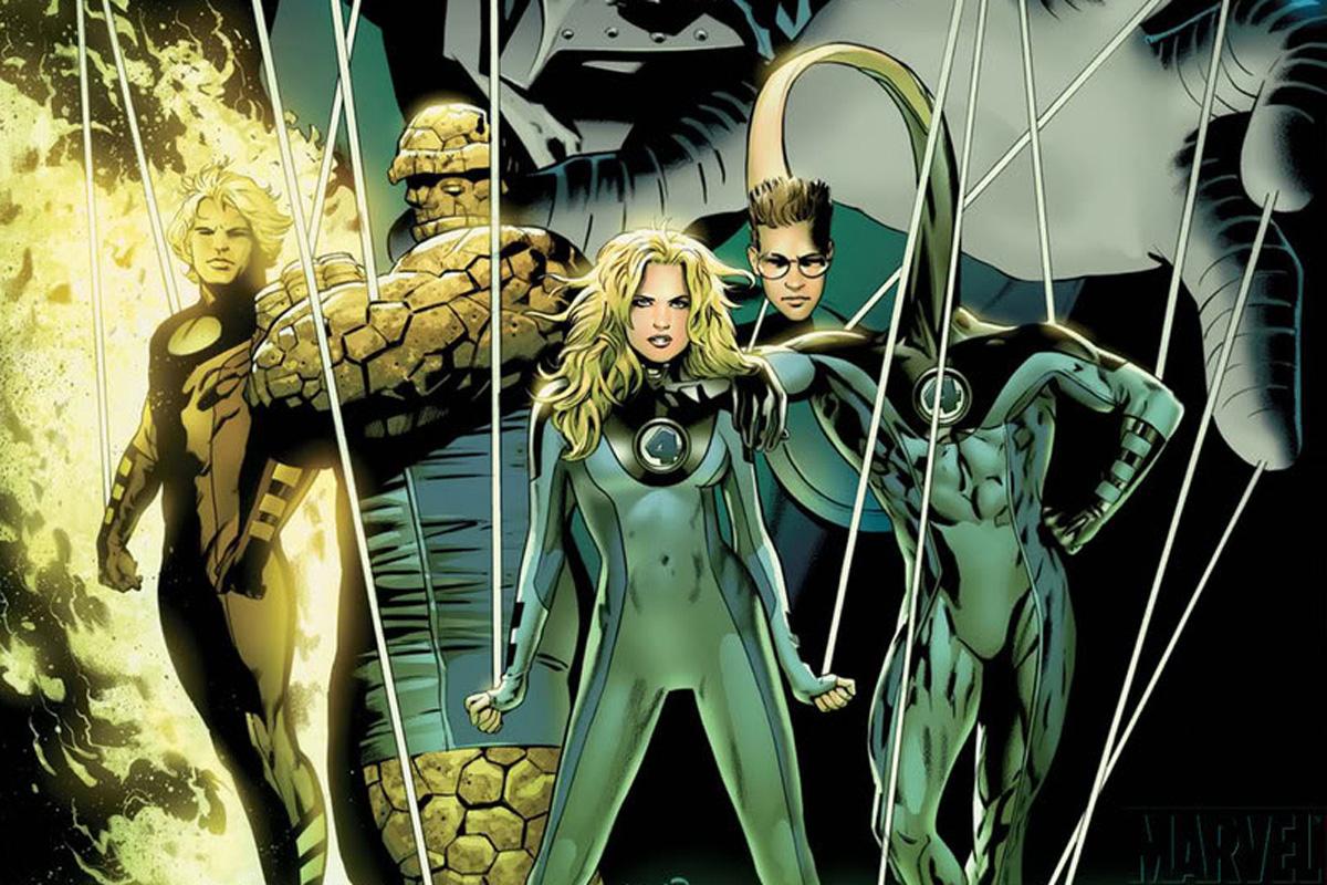 Los Cuatro Fantásticos de Ultimate Marvel