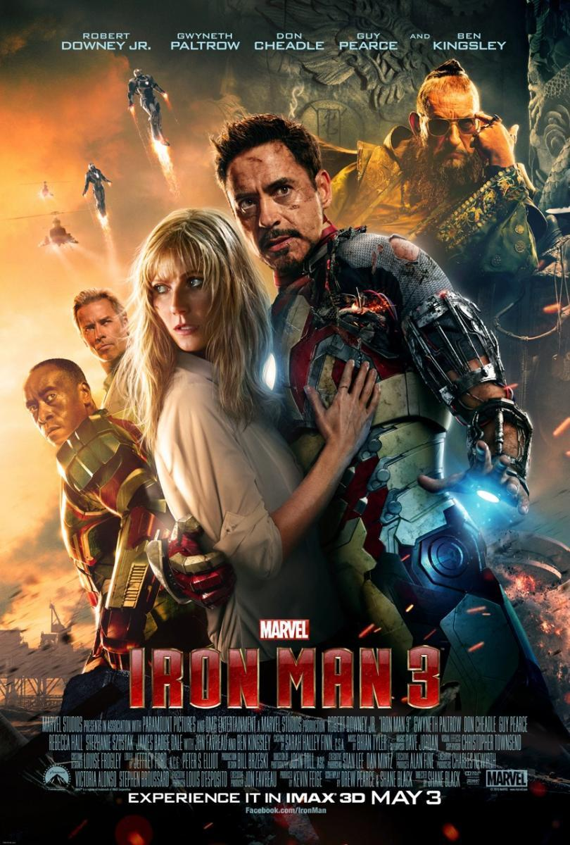 Película Iron Man 3 en Disney Plus