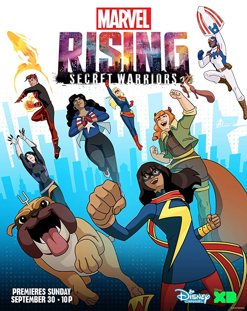 Marvel Rising Secret Warrios en Disney Plus