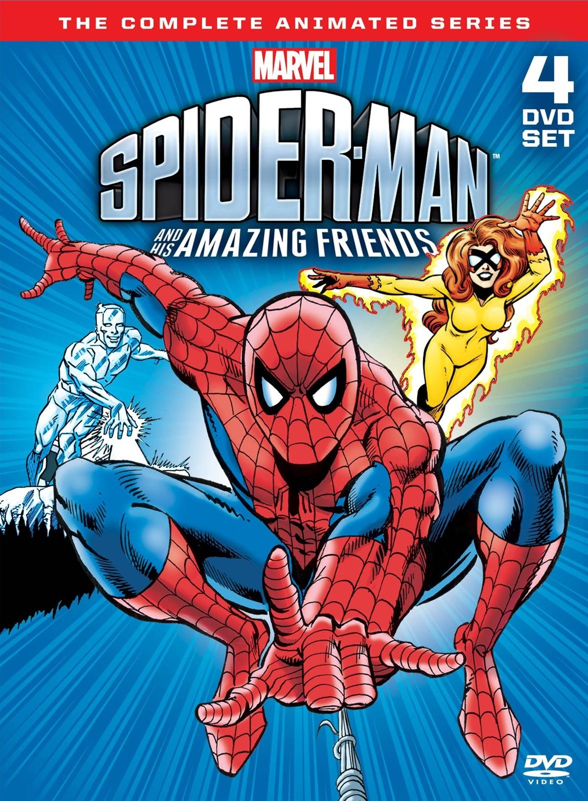 Spider Man y sus sorprendentes amigos en catálogo de Disney Plus