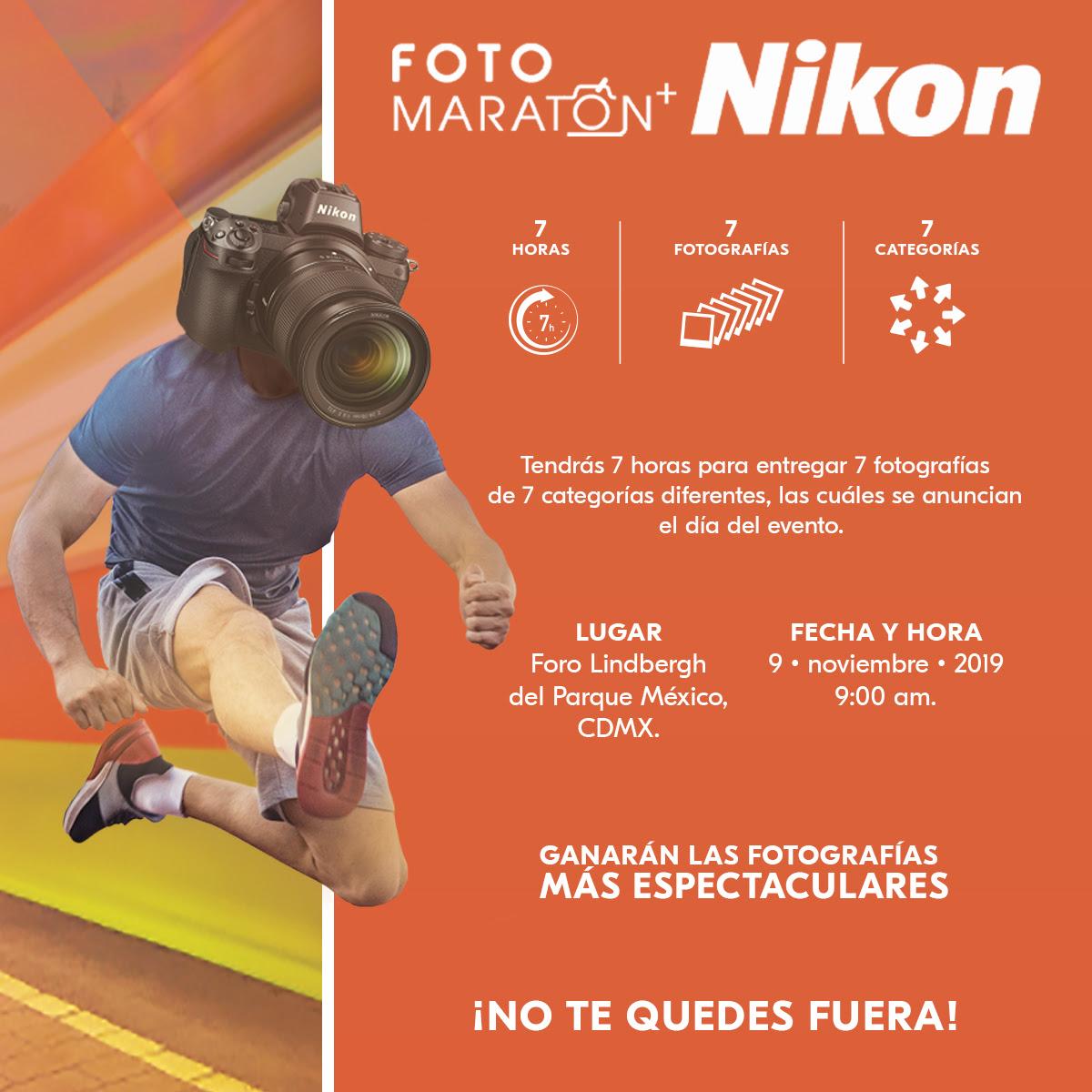Invitación Fotomaratón+Nikon