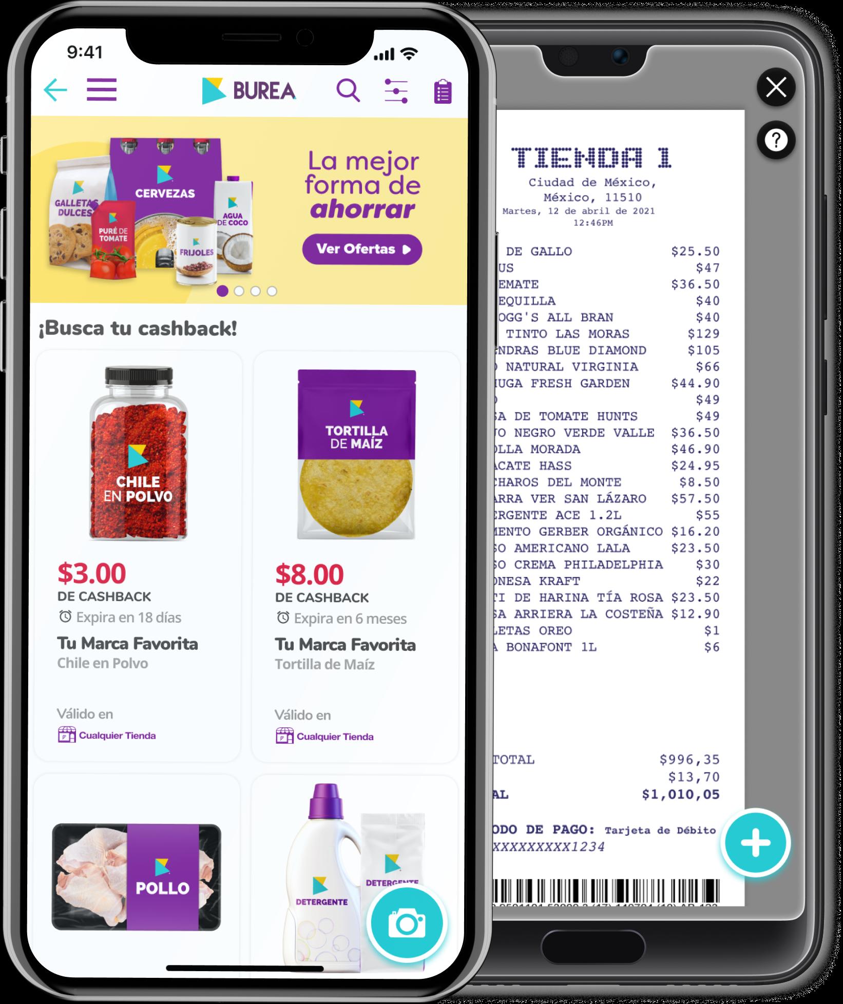 BUREA: La app que te recompensa por hacer tus compras online