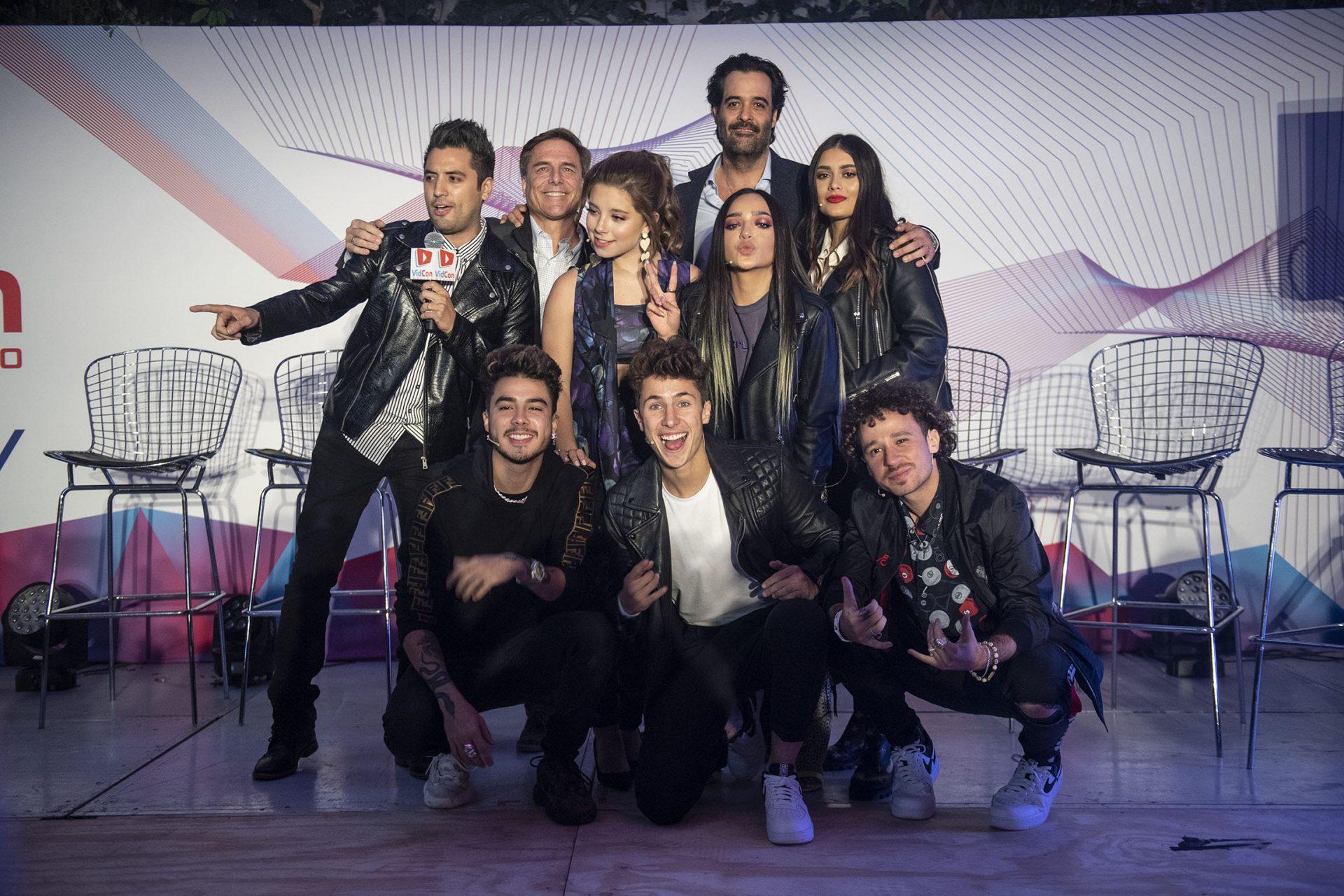 VidCon México 2020, participantes