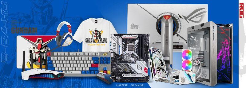 ASUS x GUNDAM Edition ya disponibles en México