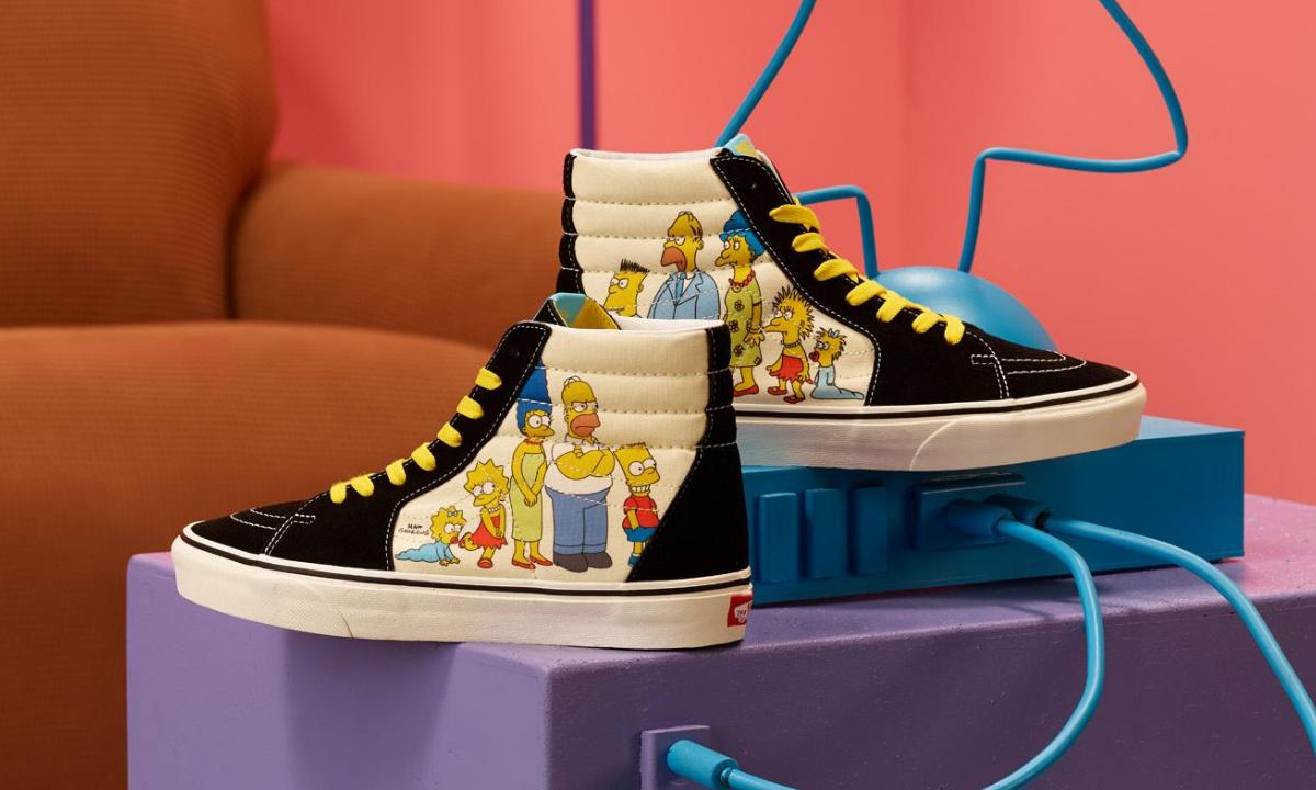 Vans lanza su colección de Los Simpson |PandaAncha.mx