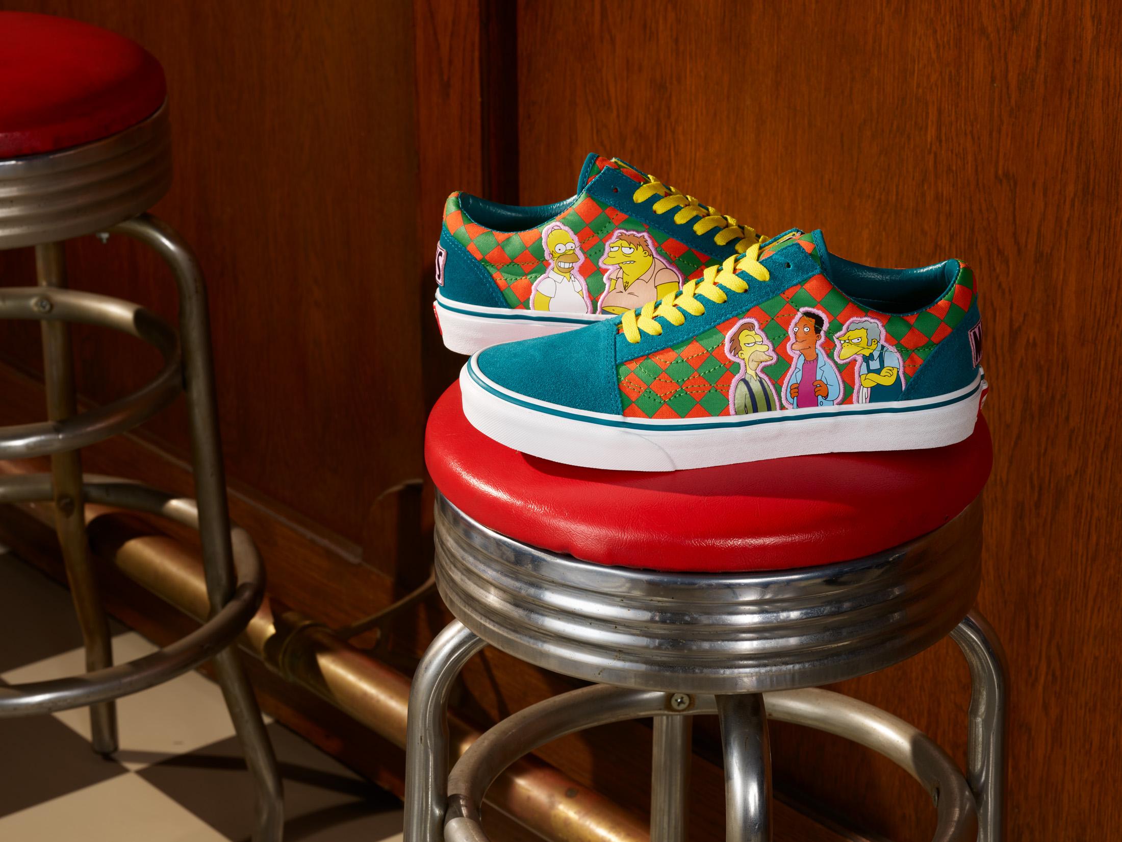Vans x Simpsons es la nueva colección de ropa, calzado y accesorios que celebran a la familia Simpson.