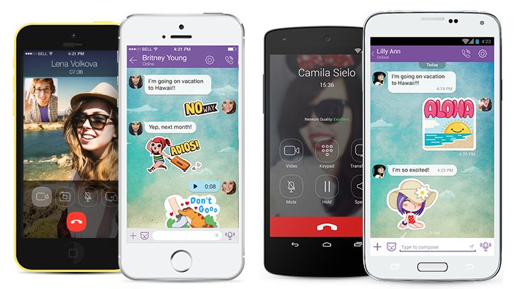 Viber en iPhone y Android