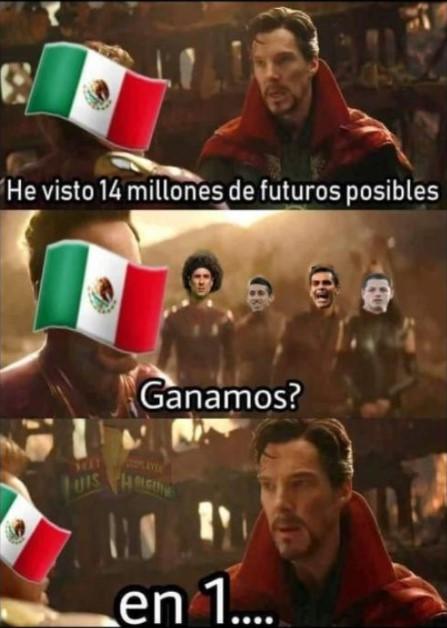 México vs Alemania memes