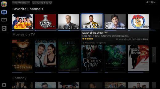 Interfaz de video bajo demanda