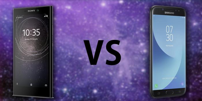 Xperia L2 vs Galaxy J7 Pro