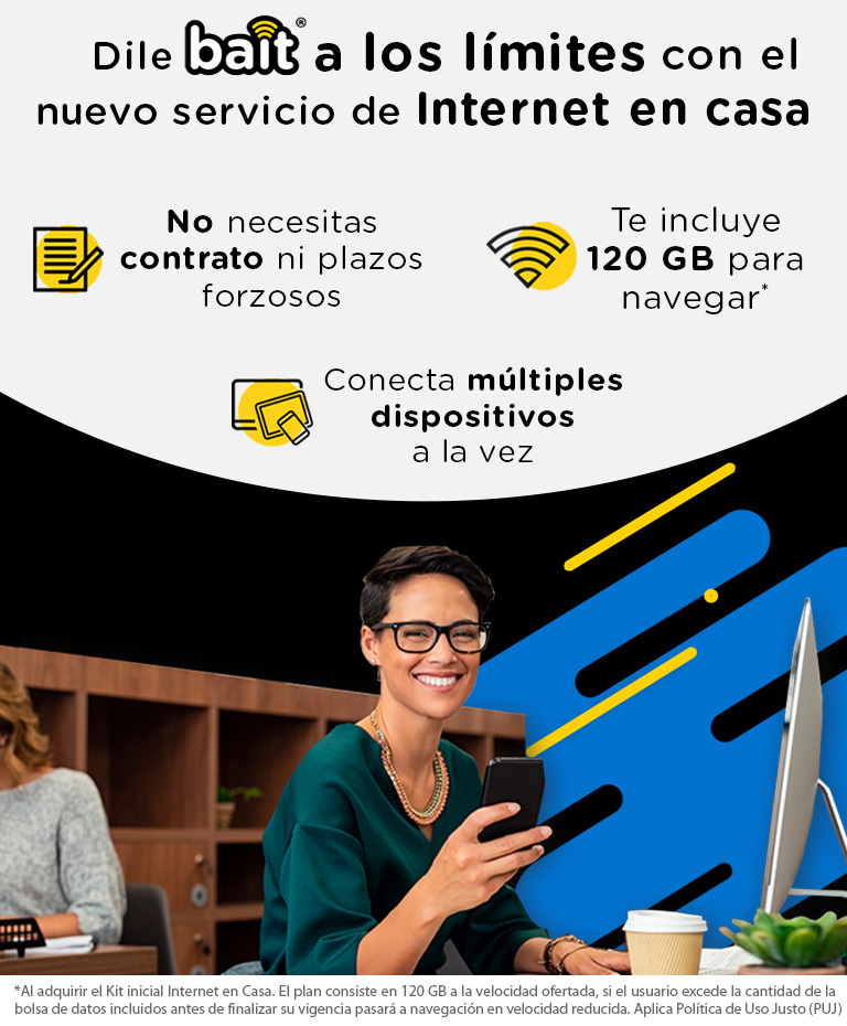 Internet en Casa de Bait: paquetes