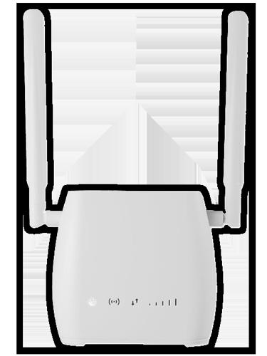 Guía para instalar el router de Internet en Casa Bait.