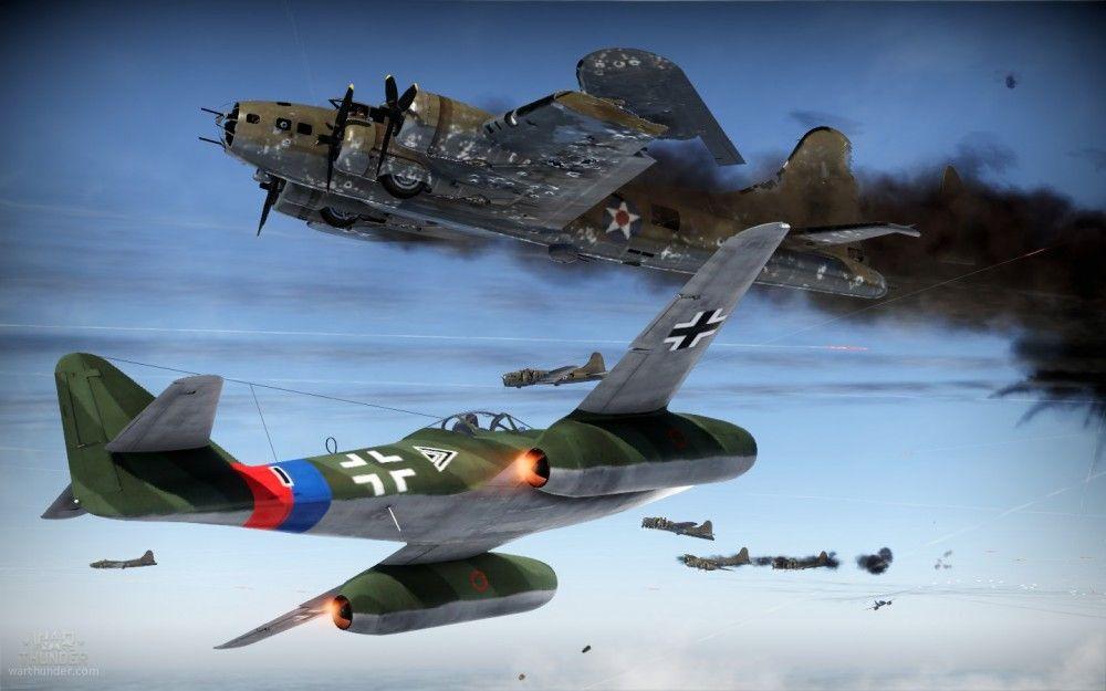 Aviones en War Thunder