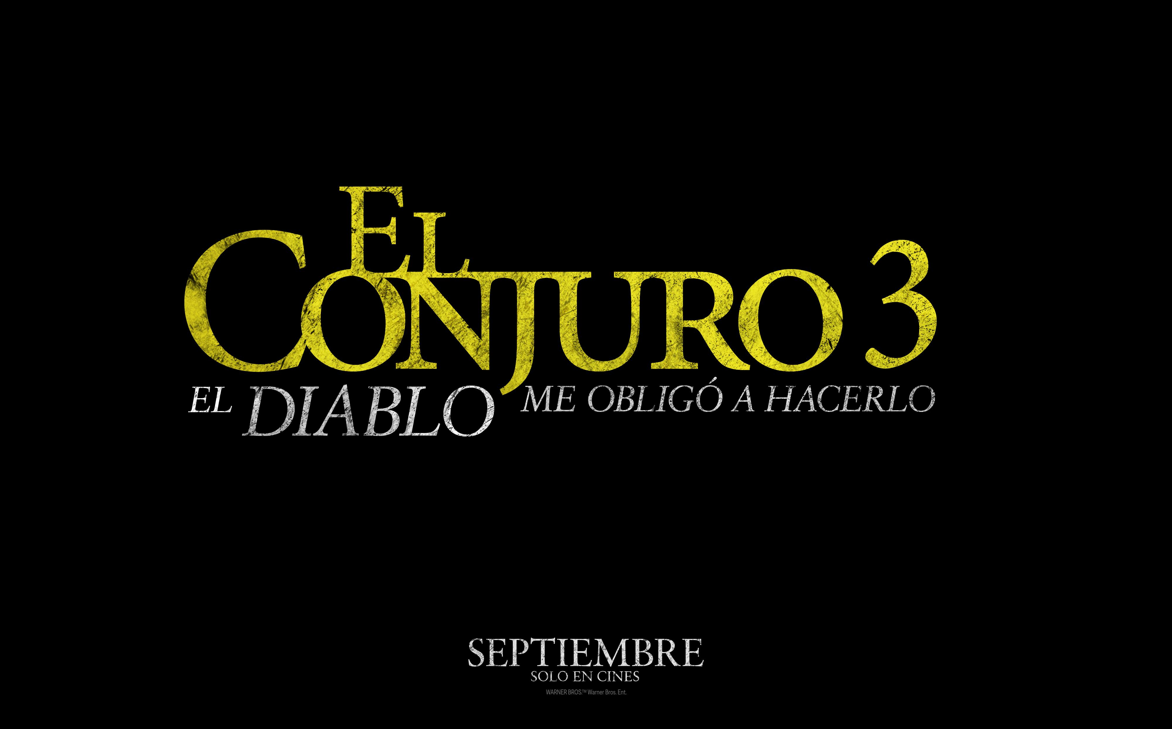 El Conjuro 3: El Diablo me obligó a hacerlo es la séptima película que conforma el universo de El Conjuro.