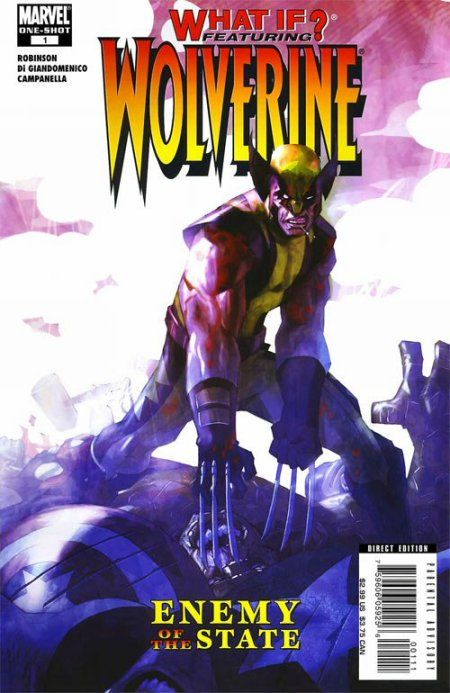 Portada de What If: Wolverine - Enemy of the State