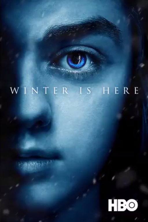 Póster Arya Stark