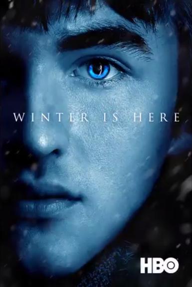 Póster Bran Stark