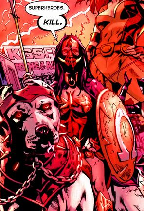 Wonder Woman bajo el control de Darkseid