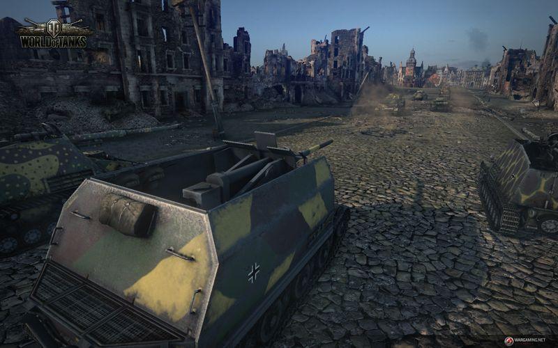 Tanque en World of Tanks