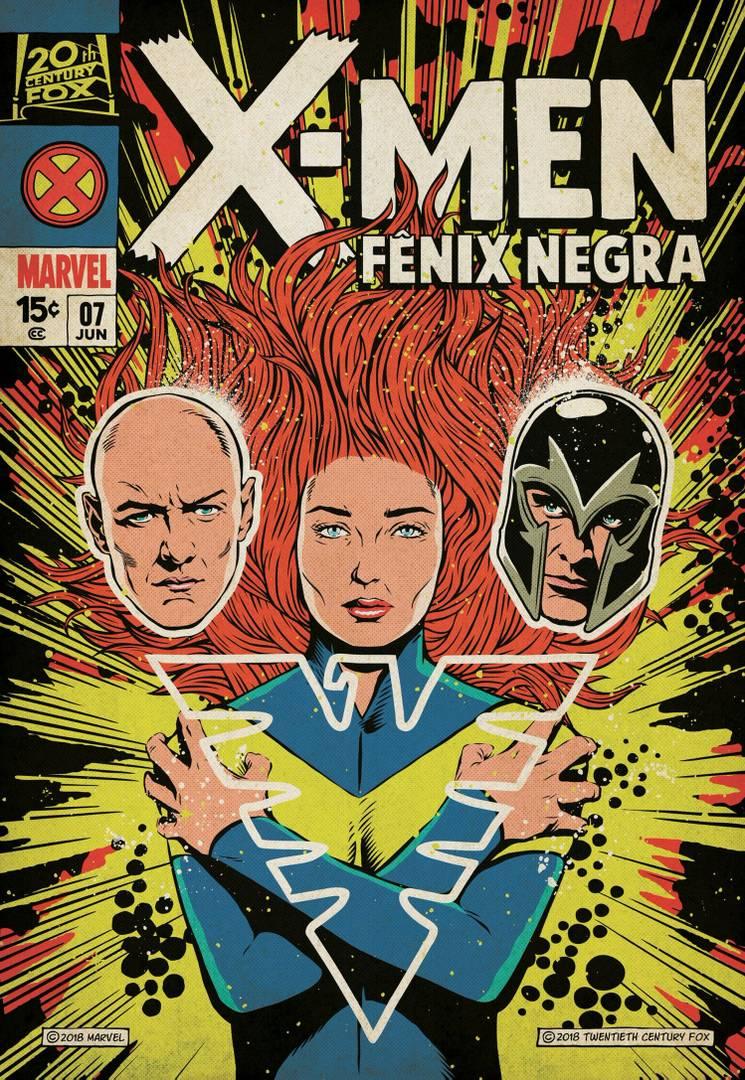 X-Men Dark Phoenix póster