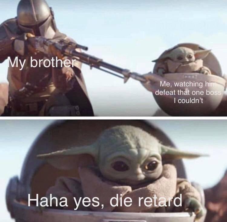 Memes del bebé Yoda