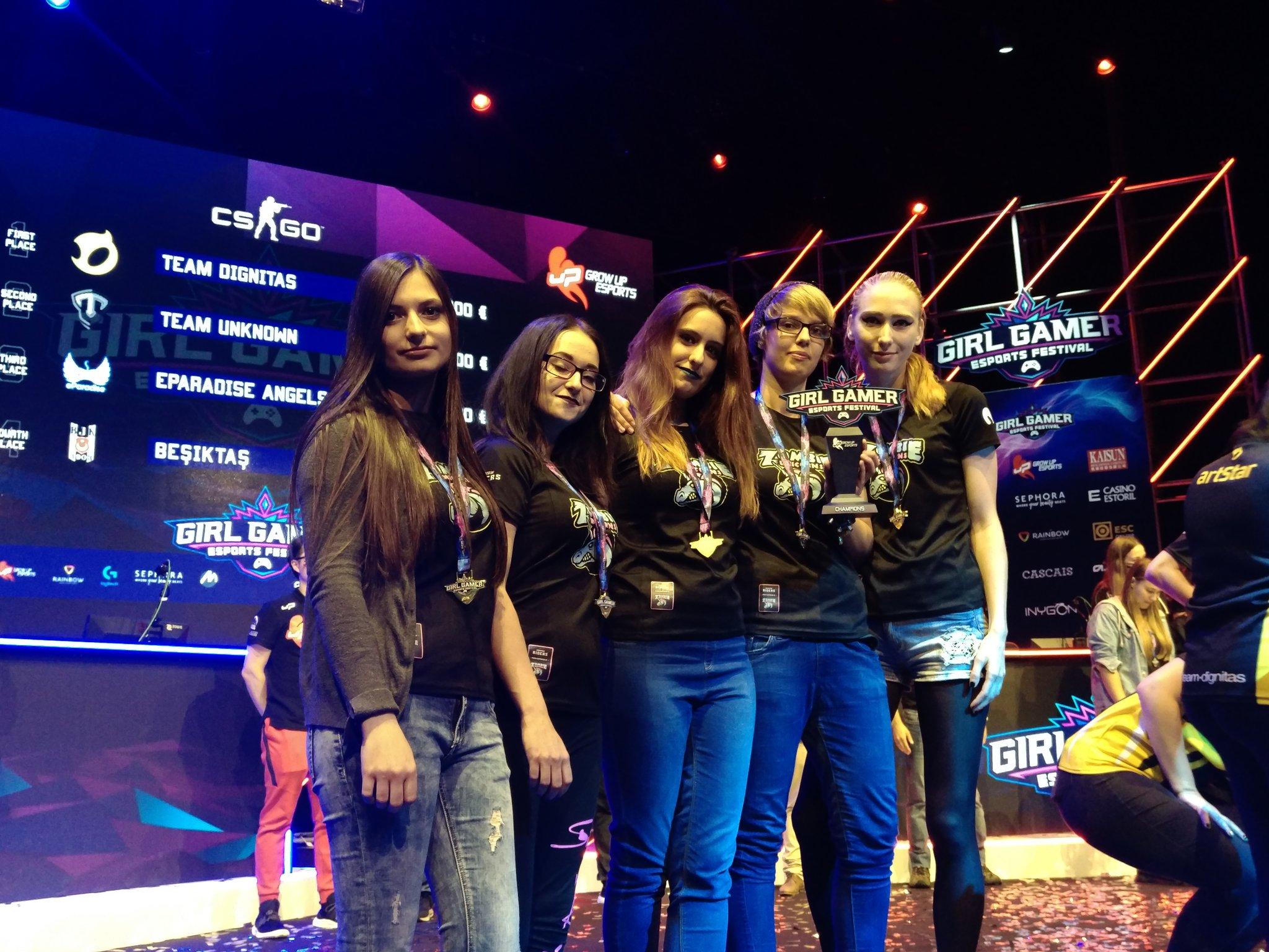 Zombie Unicorns Campeonas del Girl Gamer eSports Festival